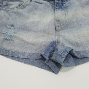 lei Bottoms - Lei Destroyed Junior Girls Jean Shorts